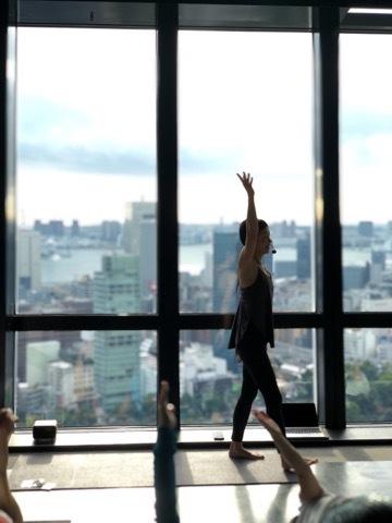 ASA YOGA@東京タワー大展望台! 再び担当させていただきます♪_a0267845_14324048.jpg