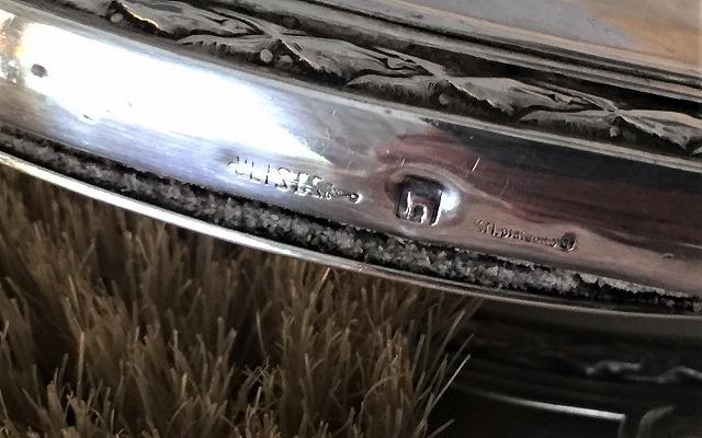 シルバープレート手鏡とヘアブラシのセット6_f0112550_09144069.jpg