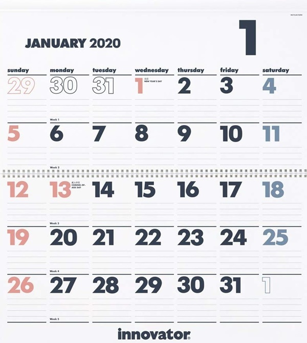 カレンダー2020_c0019551_18501021.jpg