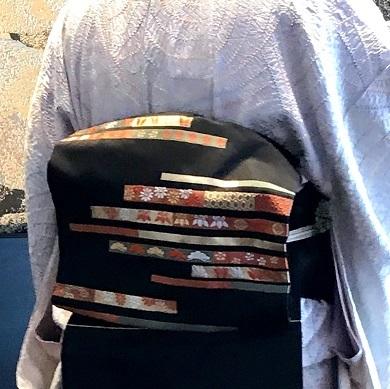 クリスマス会・絞りの着物・両面ショール・ビーズのバッグ。_f0181251_12381528.jpg