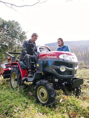 赤いトラクターがやってきた!命名「虎次郎」!今年は自らの農業にもさらに力入れていきます!!_a0254656_17302497.jpg