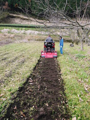 赤いトラクターがやってきた!命名「虎次郎」!今年は自らの農業にもさらに力入れていきます!!_a0254656_17361980.jpg
