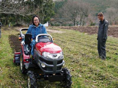 赤いトラクターがやってきた!命名「虎次郎」!今年は自らの農業にもさらに力入れていきます!!_a0254656_17420155.jpg