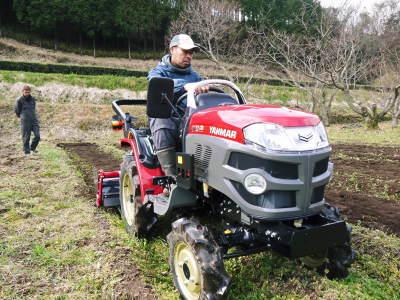 赤いトラクターがやってきた!命名「虎次郎」!今年は自らの農業にもさらに力入れていきます!!_a0254656_17434249.jpg
