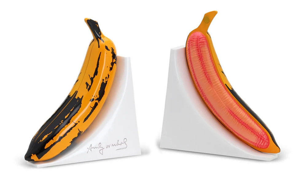 Andy Warhol Resin Banana Bookends_e0118156_13060638.jpg