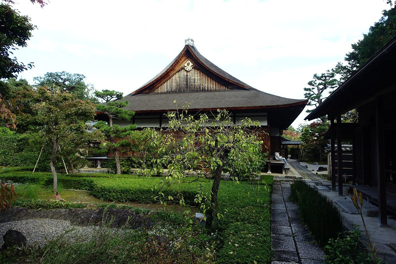 普門寺 方丈西庭「心字の庭」_c0112559_10042021.jpg