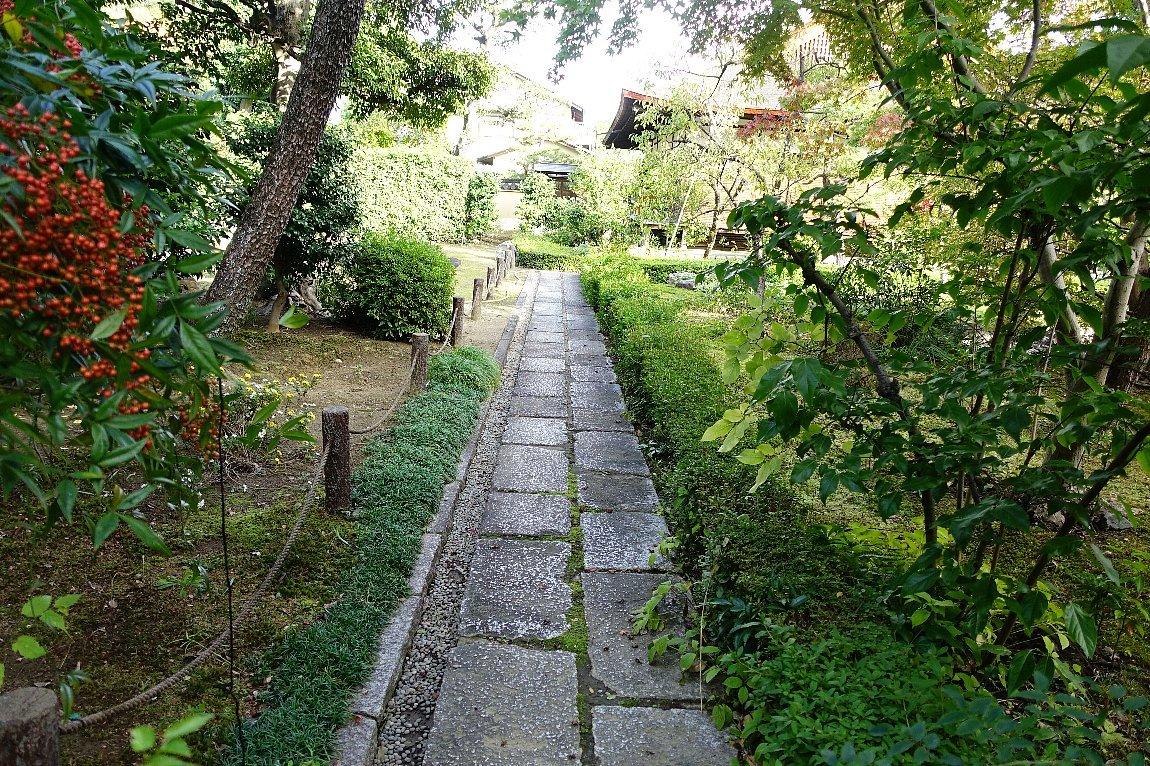 普門寺 方丈西庭「心字の庭」_c0112559_10141556.jpg