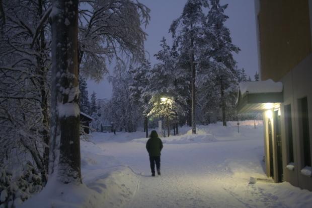 ヴィーナスフォートの噴水、それと、雪の町の絵。_d0193569_08324477.jpg