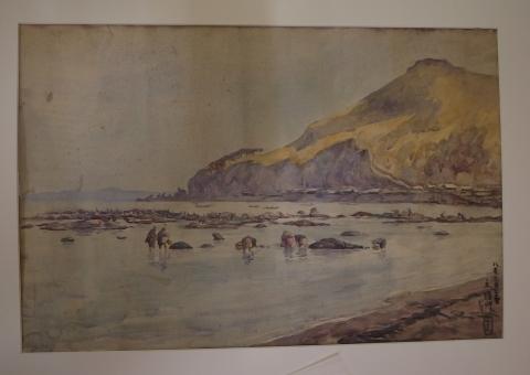 コラムリレー(第146回)田辺三重松 初期の水彩画_f0228071_17493507.jpg