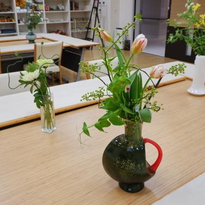 オークリーフ(絵画教室の花11)_f0049672_19192698.jpg