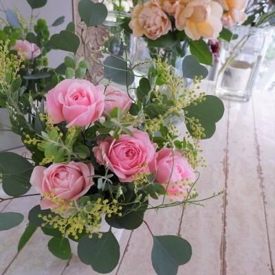 オークリーフ花の教室(大野さんと甲斐さんの作品)_f0049672_19194488.jpg