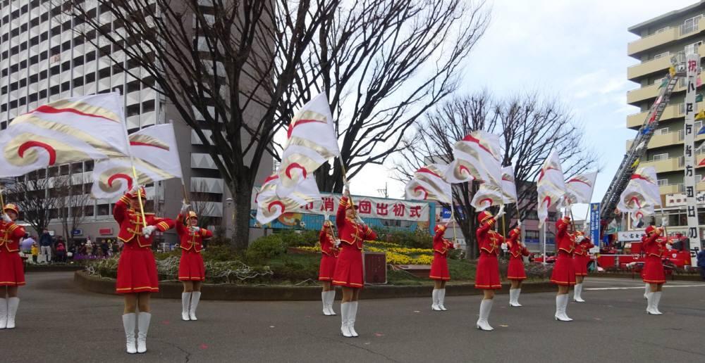 小平市消防団出初式_f0059673_17430116.jpg