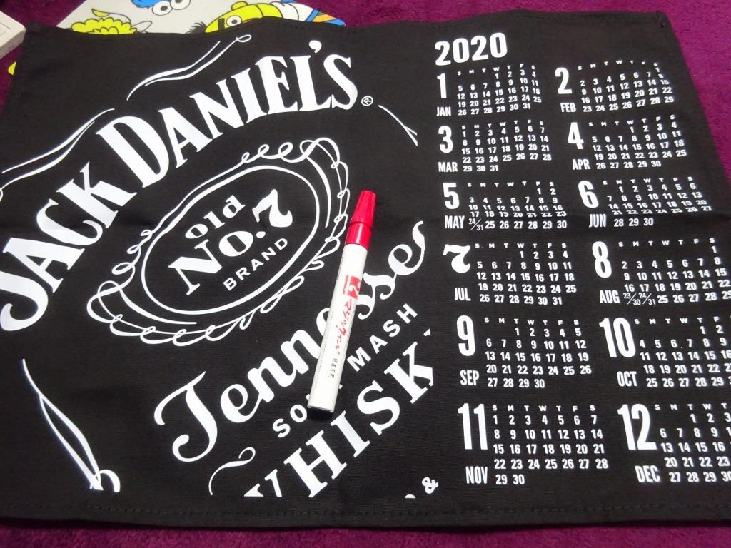 ジャックダニエル、オリジナルタペストリーカレンダー2020_d0061678_19095114.jpg