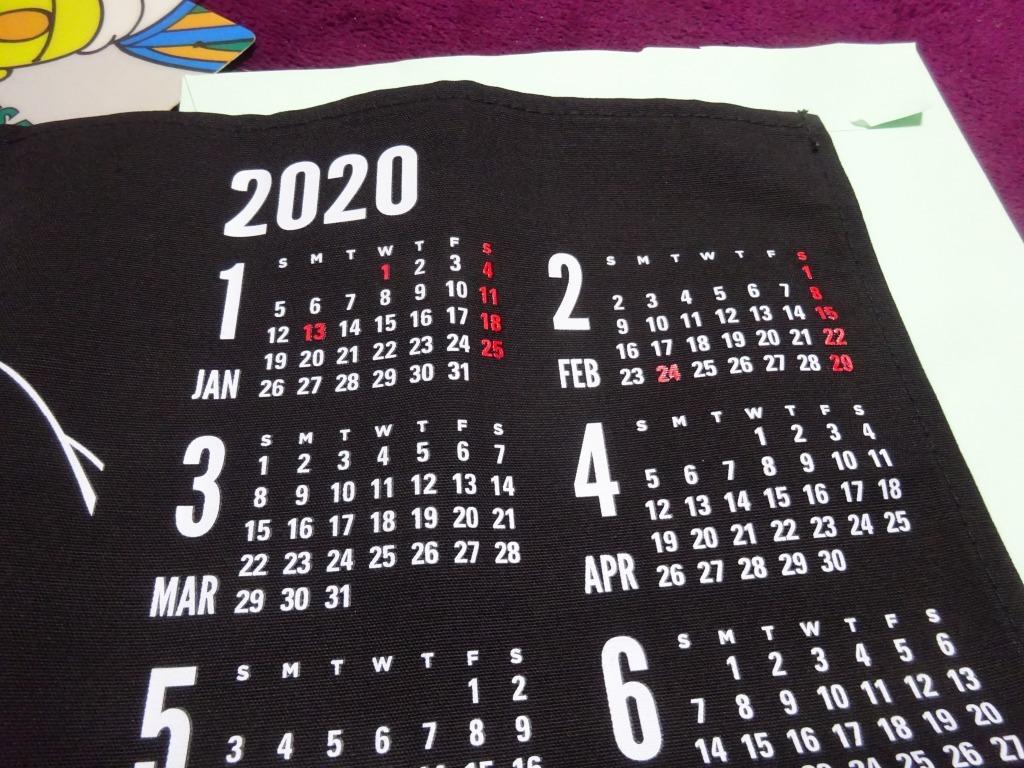 ジャックダニエル、オリジナルタペストリーカレンダー2020_d0061678_19102315.jpg