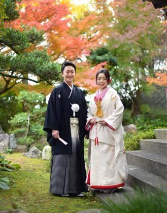 先日写真の仕上がりを取りに来られた新婚のお二人さん........_b0194185_18431961.jpg