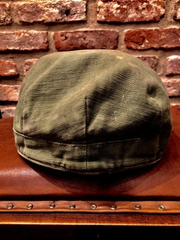 "1950s "" U.S ARMY \"" ALL cotton SATEEN - OG 107 - VINTAGE UTILITY CAP ._d0172088_19030550.jpg"