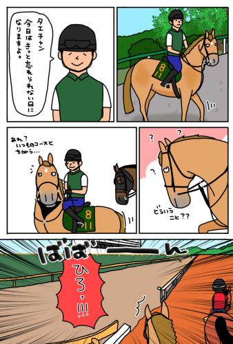 お母さんは競走馬 〜番外編〜_a0093189_20360184.jpg