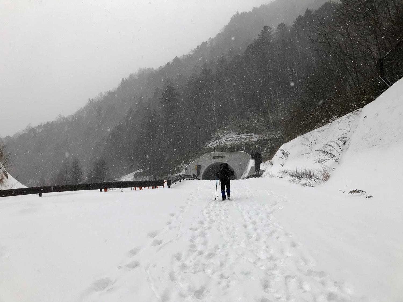 雪の上高地_f0232994_15222995.jpg