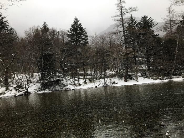 雪の上高地_f0232994_15225838.jpg