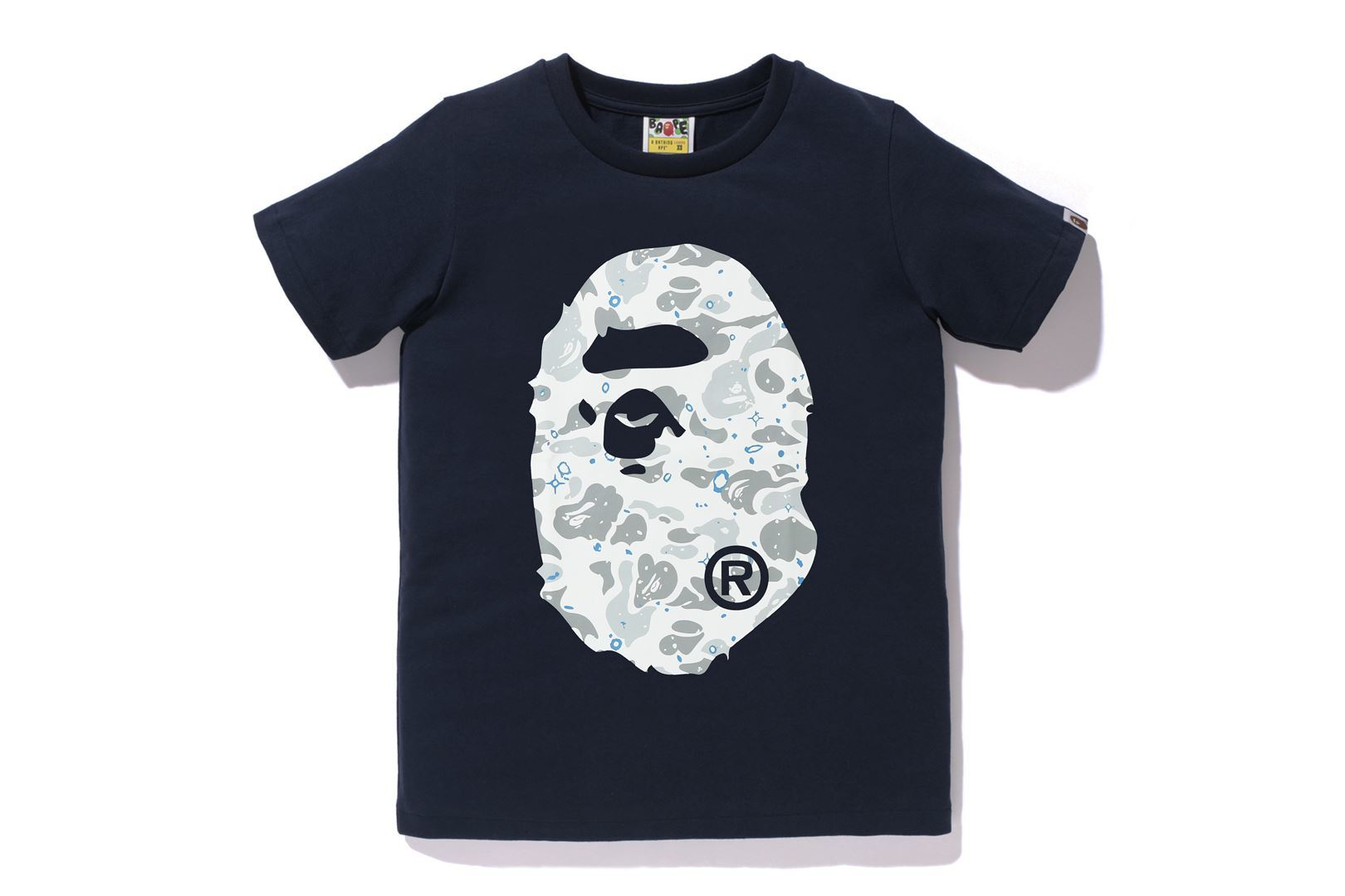 SPACE CAMO BIG APE HEAD TEE_a0174495_16063801.jpg