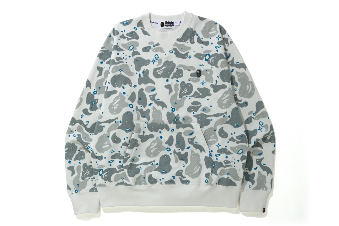 RELAXED SPACE CAMO CREWNECK_a0174495_16443099.jpg