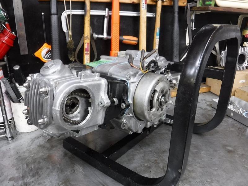 C70あんどん エンジンフルOH作業ほぼ完成_e0157602_11581520.jpg