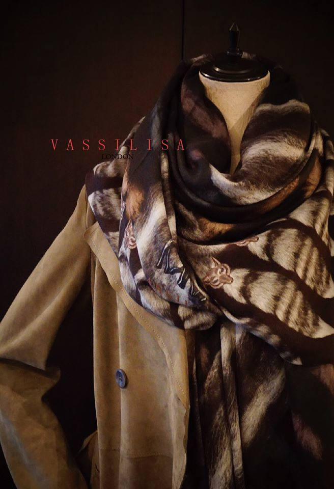 VASSILISA 限定1点物カシミヤストール_b0115615_18133151.jpg