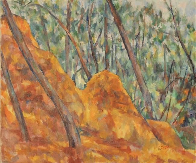 赤い森の岩_c0236929_17310614.jpg