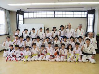 新琴似・新川教室 初稽古と十年表彰_c0118332_13083365.jpg