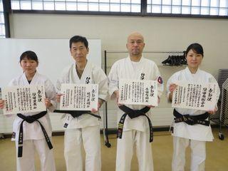 新琴似・新川教室 初稽古と十年表彰_c0118332_13083914.jpg