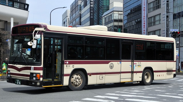 京都バス~エルガ・ワンステップバス  12_a0164734_21211280.jpg