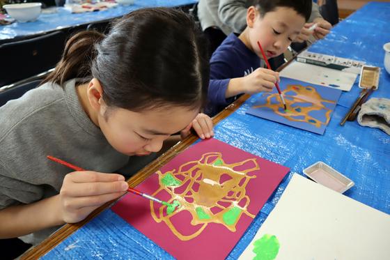 やと子ども美術教室 ~ 描き初め ~_e0222340_14363926.jpg