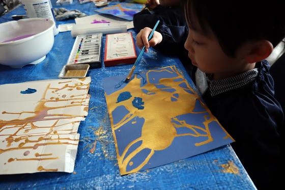 やと子ども美術教室 ~ 描き初め ~_e0222340_14381186.jpg