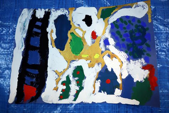 やと子ども美術教室 ~ 描き初め ~_e0222340_14451637.jpg