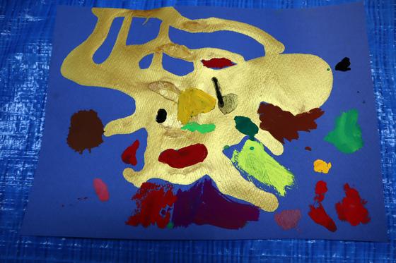 やと子ども美術教室 ~ 描き初め ~_e0222340_14455260.jpg