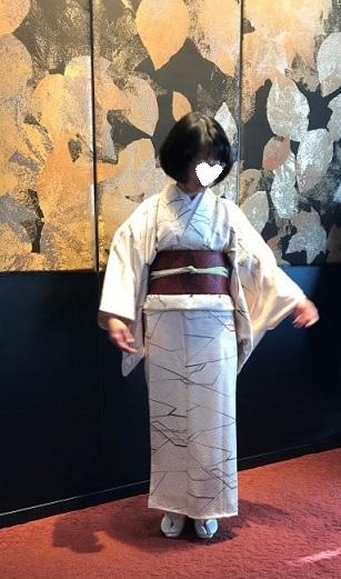 クリスマス会・お母様の着物と帯・神戸の美術館へ。_f0181251_13253328.jpg