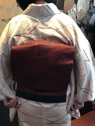クリスマス会・お母様の着物と帯・神戸の美術館へ。_f0181251_13263879.jpg