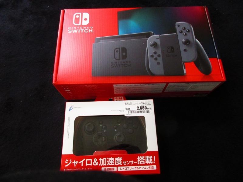 ゲーム「Nintendo Switch購入しました」_b0362459_17135007.jpg