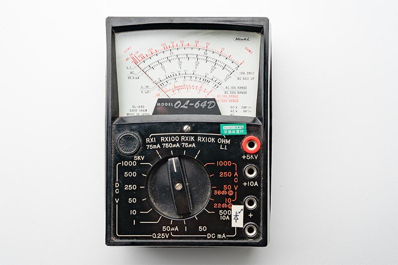 2020/01/12 昭和44年製のアナログテスター:日置電機 OL-64D_b0171364_15384428.jpg