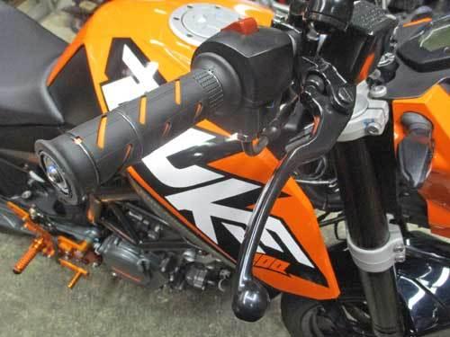 K木サン号 KTM DUKE200のオイル&ハンドル&グリップなどなど交換・・・(^^♪_c0086965_00360701.jpg