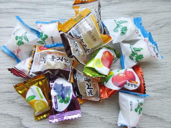 韓国の飴の詰め合わせ_c0152767_19112626.jpg