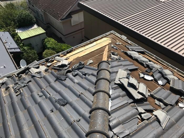 屋根、天井、カーポート ~ 台風被害。_d0165368_10315386.jpg