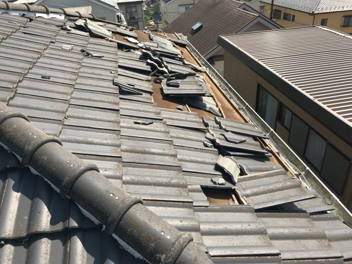 屋根、天井、カーポート ~ 台風被害。_d0165368_10320397.jpg