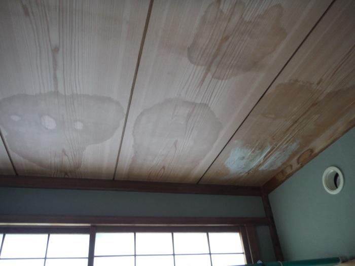 屋根、天井、カーポート ~ 台風被害。_d0165368_10321617.jpg