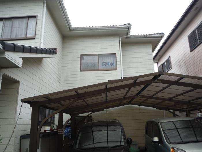 屋根、天井、カーポート ~ 台風被害。_d0165368_10323025.jpg
