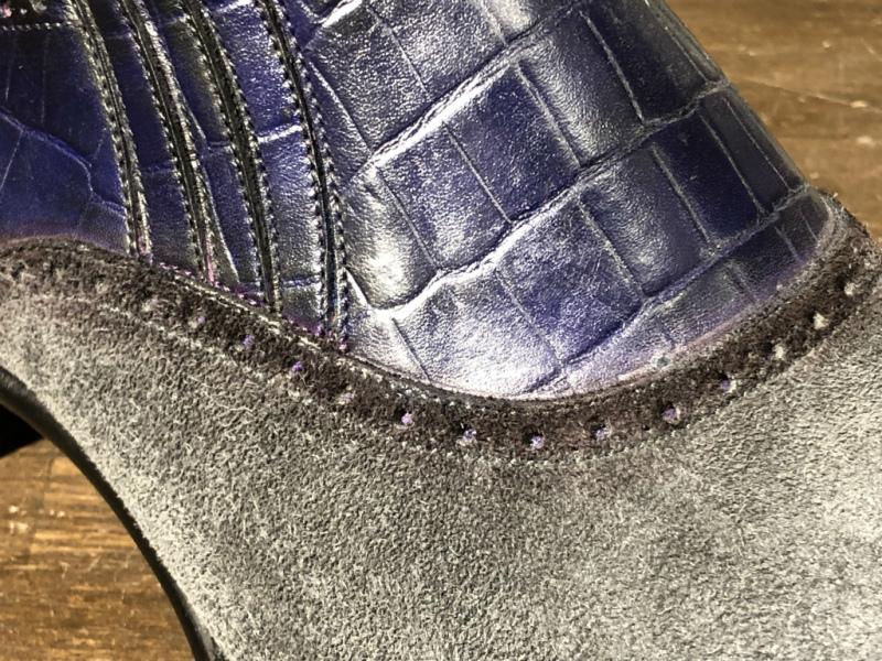 ブログ『久々に私靴作りました!~クロコ、ではない』_b0365069_18452189.jpg