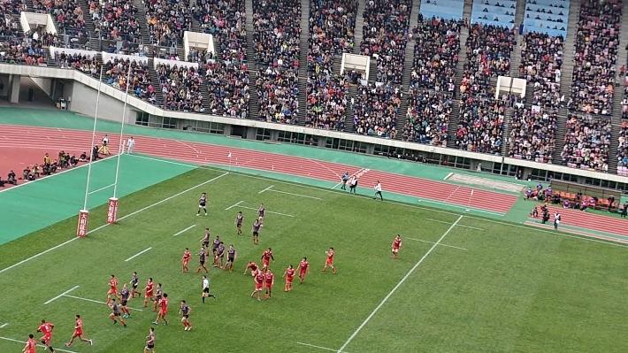 神戸から、ラグビートップリーグ開幕戦🏉_a0098174_22483156.jpg