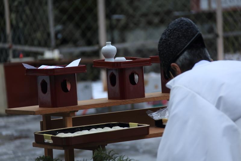 南部神社「墨付けどんと祭」_f0075075_16585840.jpg