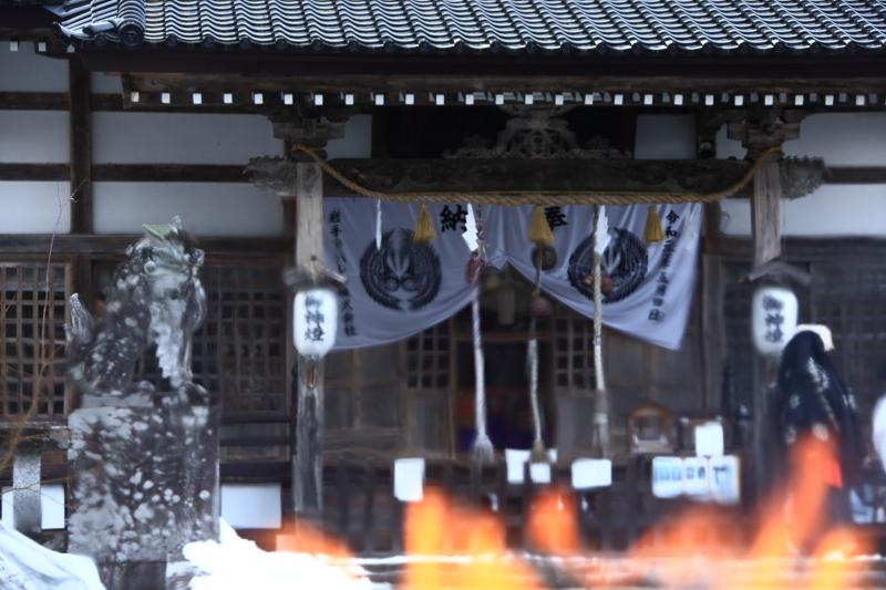 南部神社「墨付けどんと祭」_f0075075_17140449.jpg