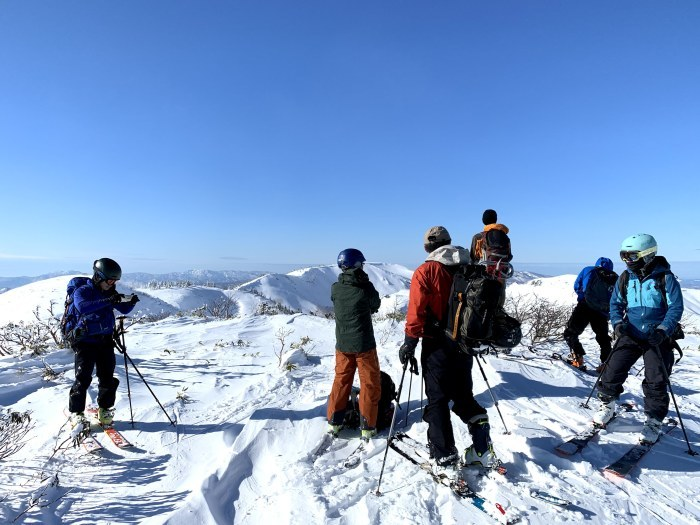 後生掛温泉スキーツアー(3日目)栂森 ~ 2019年12月30日_f0170180_14143759.jpg